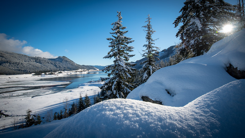 Kachess Lake Powder