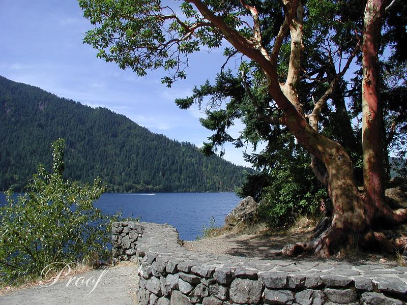 Crescent Lake and Wall
