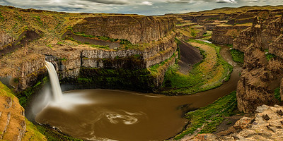 PALOUSE FALLS PANORAMIC