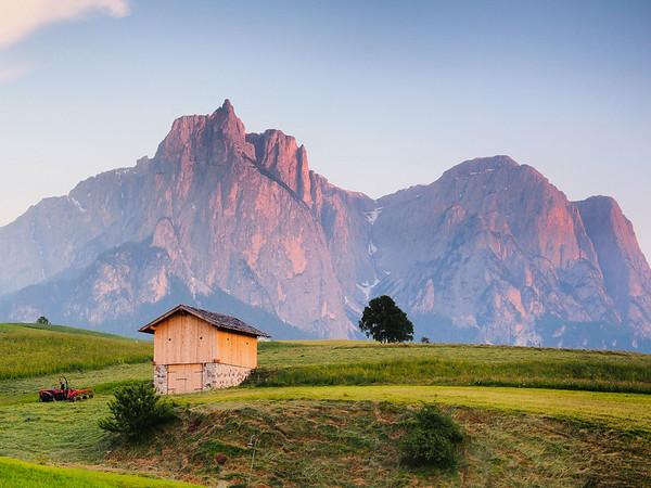 Tirolian Farmland