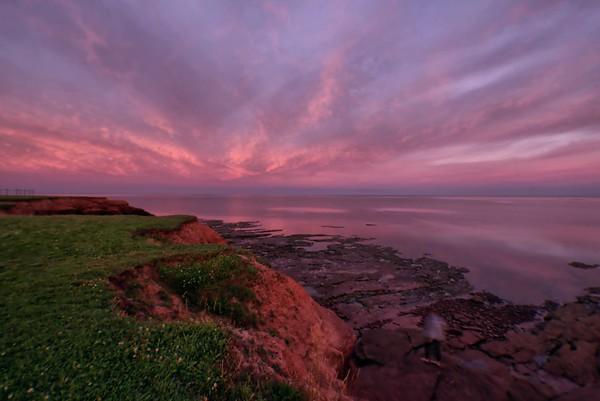 Morning Glory at Canoe Cove, PEI
