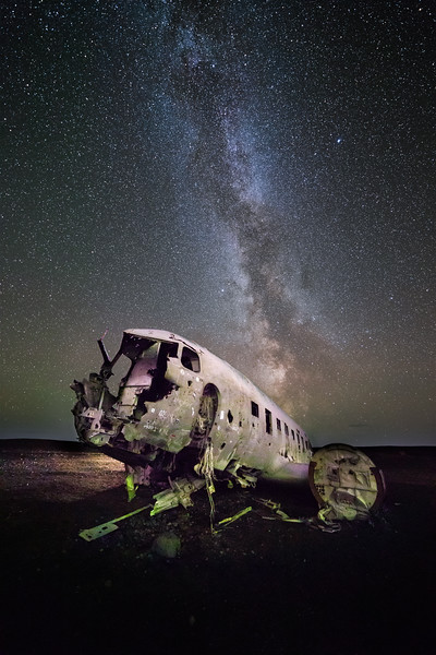 Plane Wreckage in Iceland