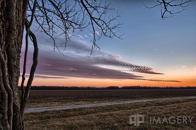 Sunset - Hwy 231