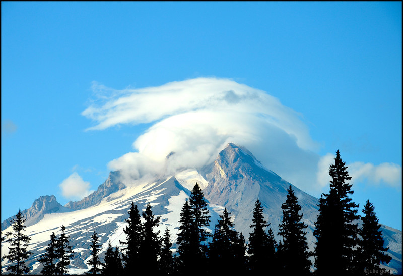 Mount Hood with Cap Cloud