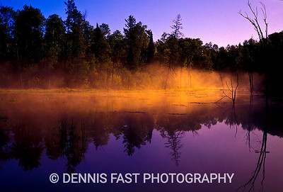 SUNRISE FOG.  The advantage of sleeping in my vehicle is that I can wake up at a beautiful spot and start taking pictures without getting out of bed! Sunrise fog is a favorite of mine and you can see why here.
