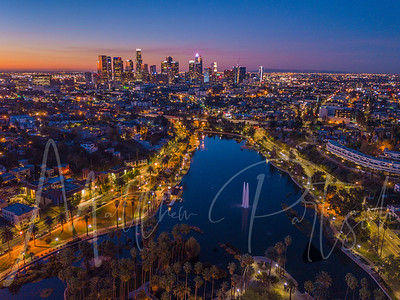 400ft Sunrise at Echo Park