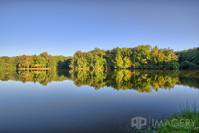 Audubon State Park - lake