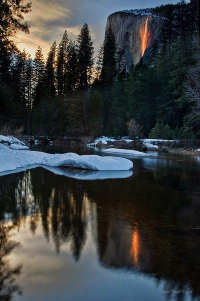 Horsetail Fall, Yosemite Ca