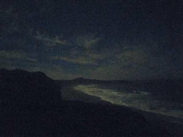 Moonlit Sonoma Coast at Sea Ranch