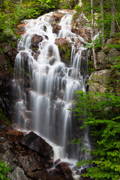 Hadlock Falls, Acadia National Park, Maine.