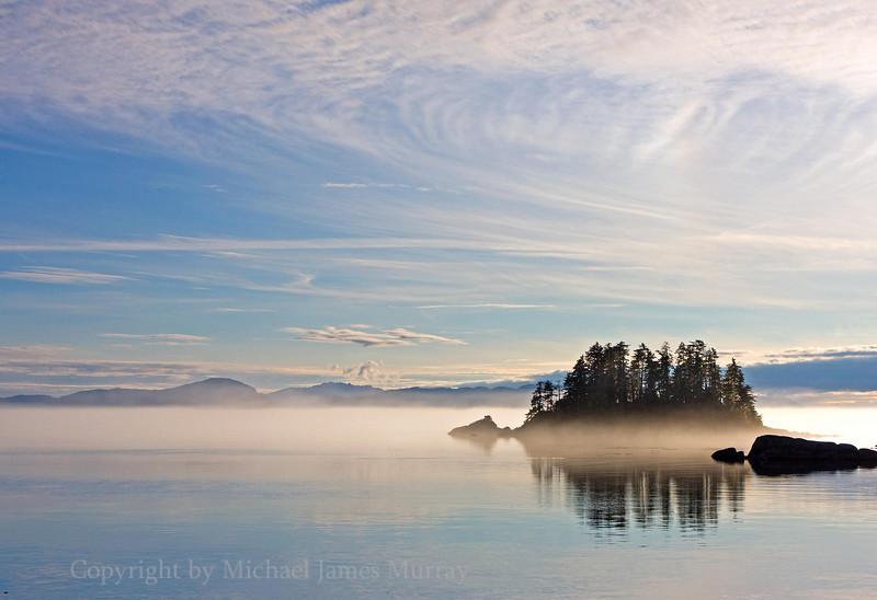 Southeast Alaska Sea-scape.