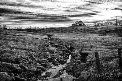 B&W - Rural KY Scene