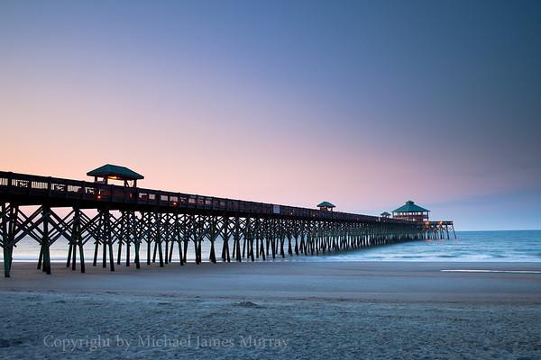 Folly Pier, Folly Island, South Carolina.