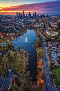 Echo Park - Downtown Los Angeles  @donut.street.meet