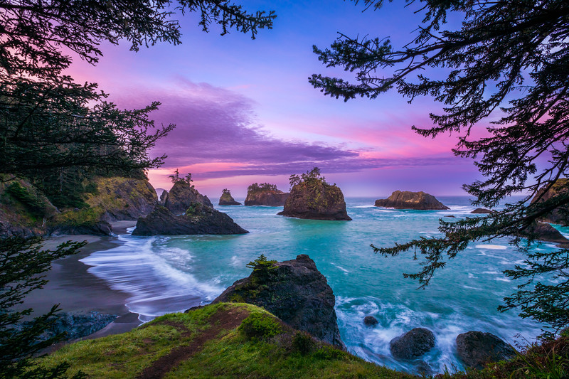 Secret Beach - Oregon Coast