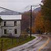 West Virginia, Onego, Rainy October Day, Empty House 10-21-14