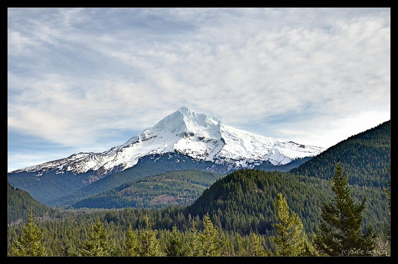 Mount Hood's West Face