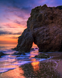 Sunsets in Malibu, California