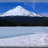 Mount Hood:  Blue Ice