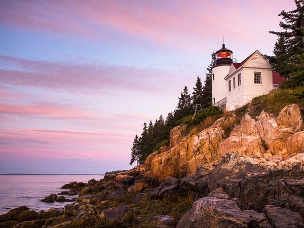 Bass Harbor Light House, Southwest Harbor, Maine