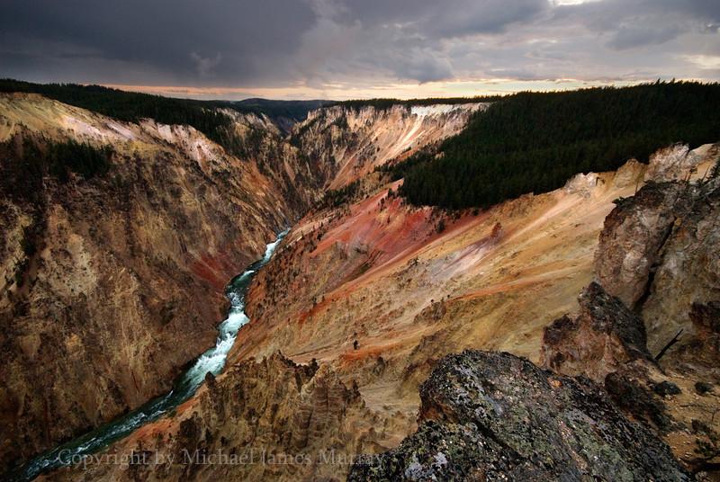 Artist Point, Grand Canyon of Yellowstone, Yellowstone National Park