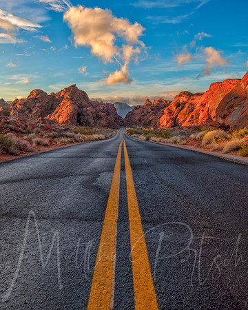 Sunrise at the Valley of Fire.