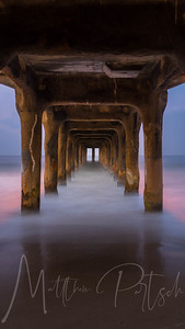 Good Morning under the Manhatten Beach Pier.  Hope the 10K runners are enjoying their runners high.