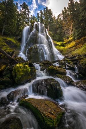Upper Falls Creek Falls - Washington