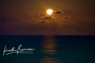 Full Moonrise, February 2011, West Palm Beach