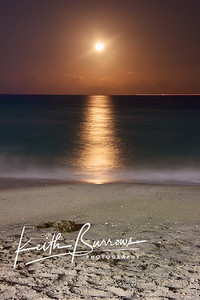 Full Moonrise, West Palm Beach, Florida