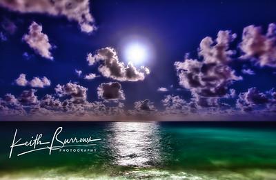 Full Moon, West Palm Beach, Florida