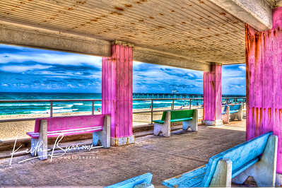 Benches on The Beach, Lake Worth, Florida