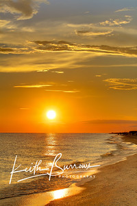 Picture Perfect Beach Sunset