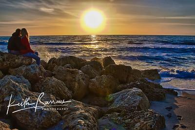 Lover Sunset