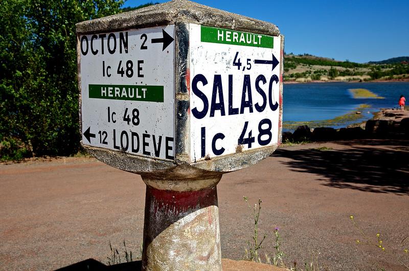 The Road That Was #1. Lac du Salagou