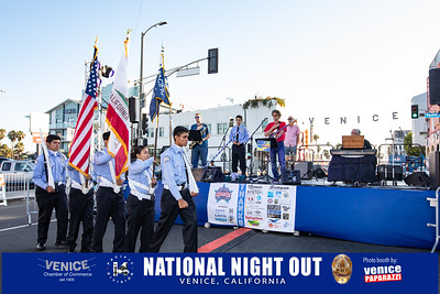 LAPD's National Night Out. Venice, California. Photo by VenicePaparazzi.com