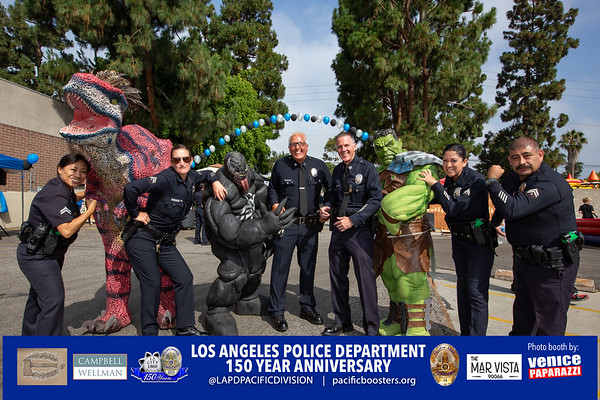 2019 LAPD Pacific Division 150th Year Anniversary and Open House