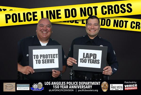 2019 LAPD - Venice Paparazzi photo booth