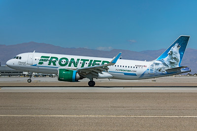 Frontier Airlines Airbus A320-251N N369FR 3-17-21