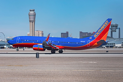 Southwest Airlines Boeing 737-8H4 N8646B 3-17-21