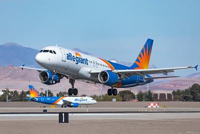 Allegiant Air Airbus A320-214 N292NV 3-18-21