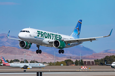 Frontier Airlines Airbus A320-251N N351FR 3-18-21