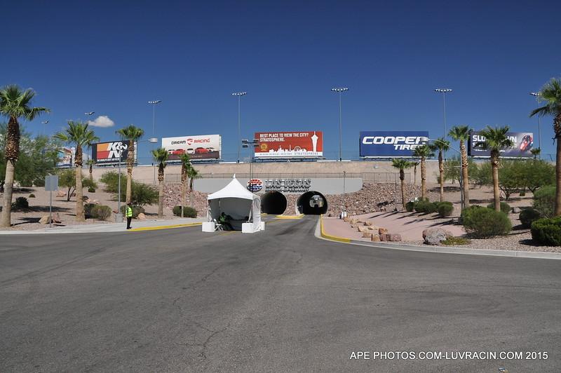 Found the Las Vegas Speedway