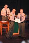 Graduation of Class # 345. La Mirada Theatre. La Mirada, California. January 20, 2006