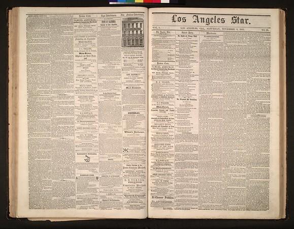 Los Angeles Star, vol. 5, no. 25, November 3, 1855
