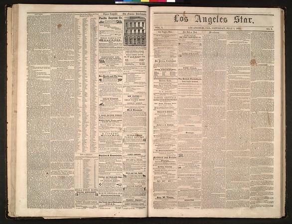 Los Angeles Star, vol. 5, no. 8, July 7, 1855