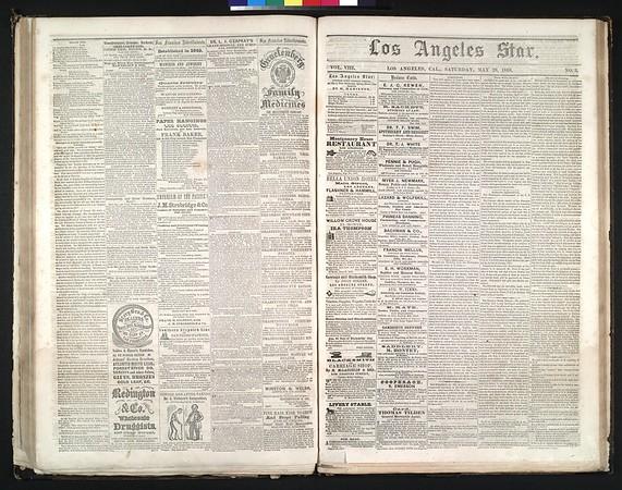 Los Angeles Star, vol. 8, no. 3, May 29, 1858