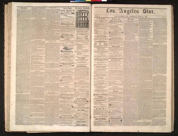 Los Angeles Star, vol. 5, no. 4, June 16, 1855