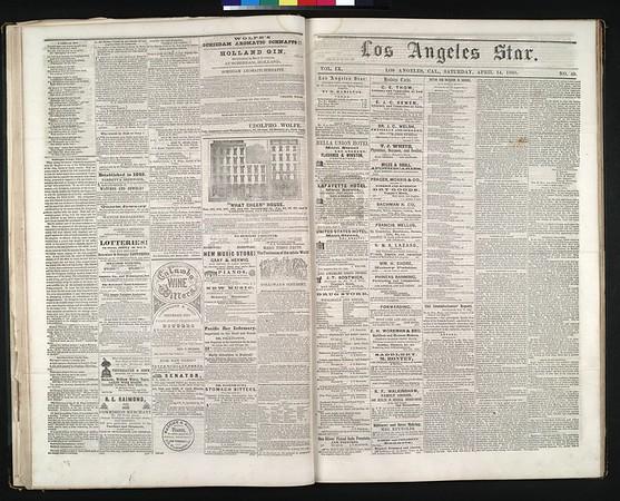 Los Angeles Star, vol. 9, no. 49, April 14, 1860