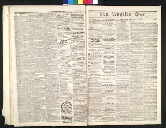 Los Angeles Star, vol. 8, no. 37, January 22, 1859